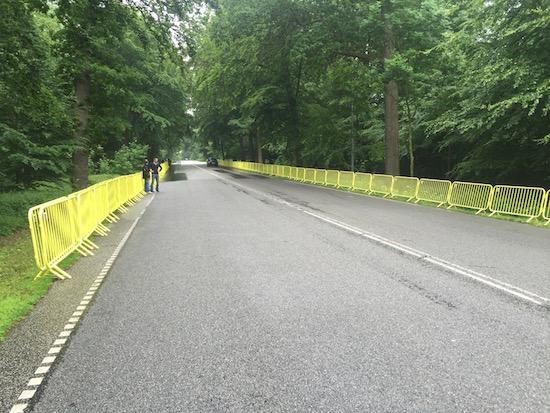 Triathlon barrier